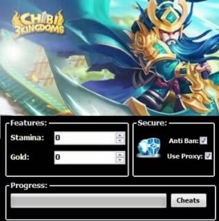 ЧИТ Chibi 3 Kingdoms
