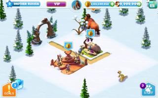 Взломанная Ice Age Village