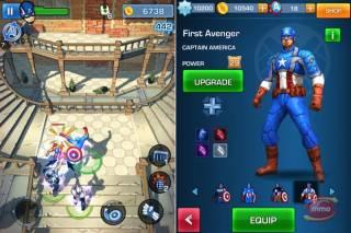 Взломанная Captain America - Первый мститель