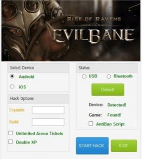 Чит на EvilBane Rise of Ravens