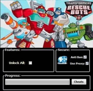 ЧИТ Transformers Rescue Bots