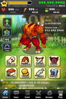 Взломанный Monster Warlord