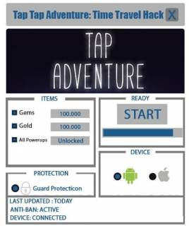 ЧИТ Tap Adventure: Time Travel