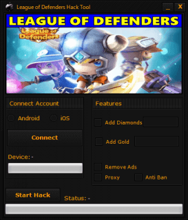 ЧИТ League of Hero Defenders