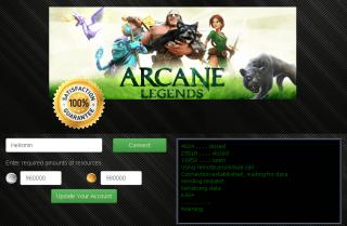 Взломанная Arcane Online