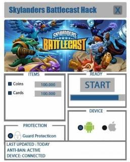 Взломанный Skylanders Battlecast