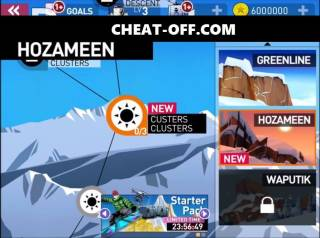 Взломанная Snowboarding The Fourth Phase