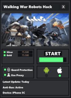 как взломать игру war robots на деньги