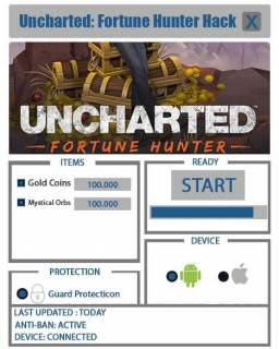 ЧИТ UNCHARTED: Fortune Hunter