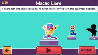 Взломанная Pixel Super Heroes