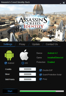 ЧИТ Assassins Creed Identity