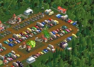 Взломанная RollerCoaster Tycoon 2