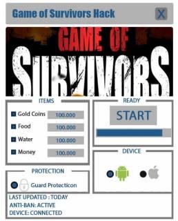 ЧИТ Game of Survivors