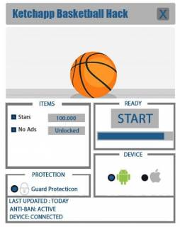 Чит Ketchapp Basketball