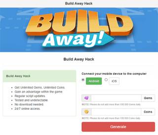 Чит Build Away!