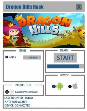 Чит Dragon Hills