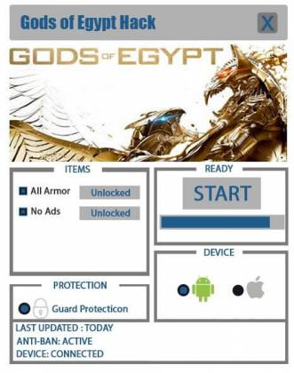 Чит Gods Of Egypt