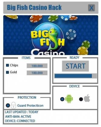 Чит Big Fish Casino