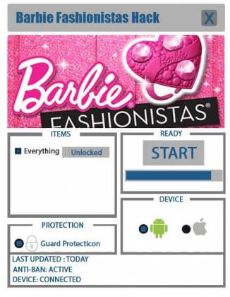 Чит Barbie Fashionistas