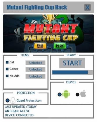 Чит Mutant Fighting Cup