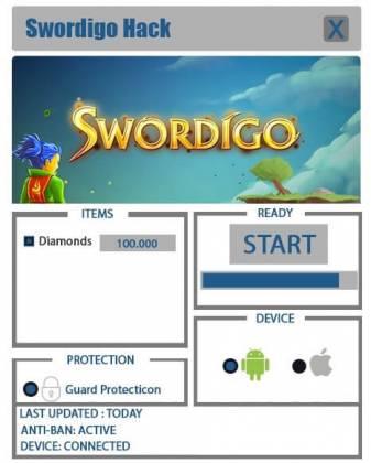 Чит Swordigo