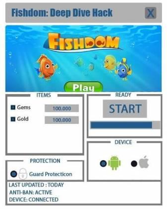 Чит для Fishdom