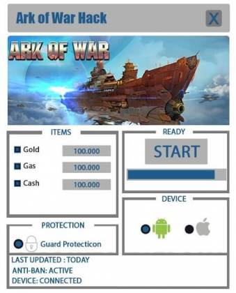 Чит Ark of War