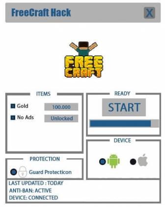Чит FreeCraft