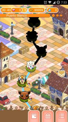 Взломанная Pokemon Shuffle Mobile
