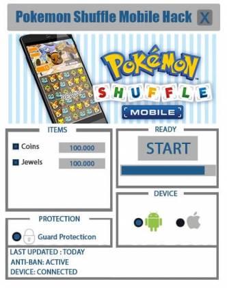 Чит Pokemon Shuffle Mobile