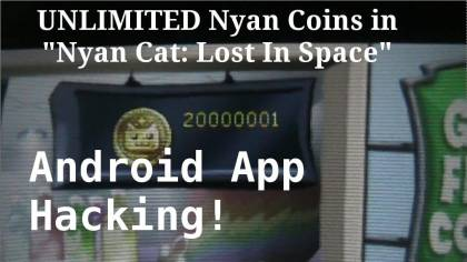 Взломанная Nyan Cat Lost in Space