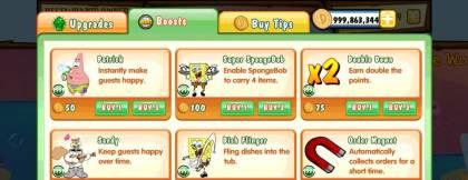Взломанная SpongeBob Diner Dash