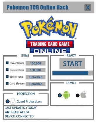 Чит Pokemon TCG Online
