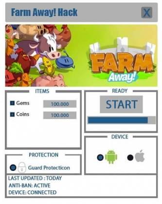 Чит Farm Away
