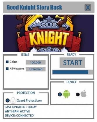 Чит для Good Knight Story