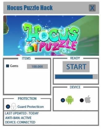 Чит для Hocus Puzzle