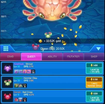 Взломанная Crab Wars
