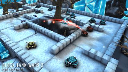 Взломанная Block Tank Wars 2