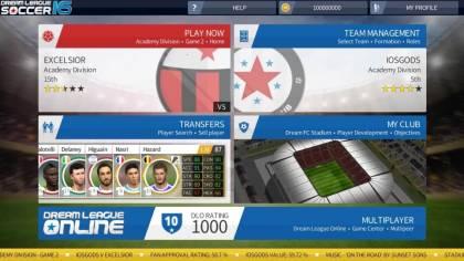 Взломанная Dream League Soccer 2016
