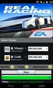 Чит для Real Racing 3