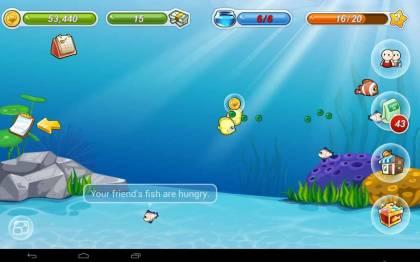 Взломанная Happy Fish