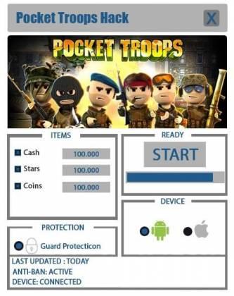 Чит для Pocket Troops