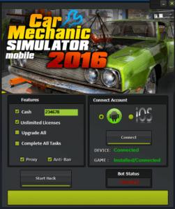 Чит для Car Mechanic Simulator 2016