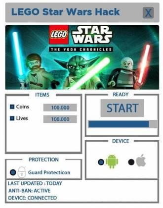 Чит для LEGO Star Wars