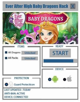 Чит для Ever After High: Baby Dragons