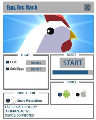 Чит для Egg, Inc