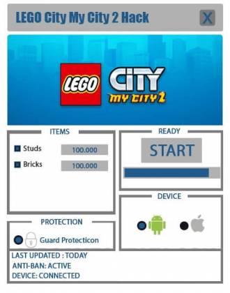 Чит для LEGO City My City 2