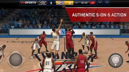 Скачать NBA LIVE Mobile