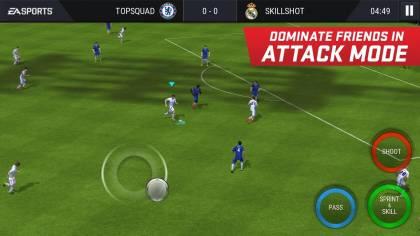 Игра ФИФА Мобайл 17 Футбол