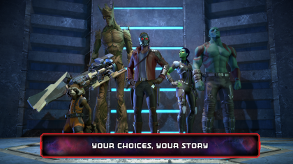 Взломанная версия игры Marvel's Guardians of the Galaxy: The Telltale Series